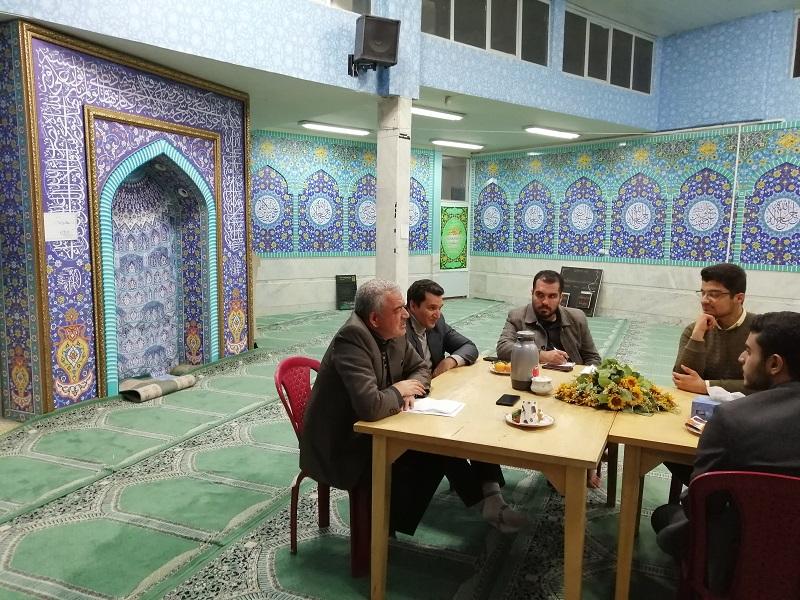 رضا تارخ مسئول بسیج دانشجویی دانشگاه فرهنگیان شهیدآیت